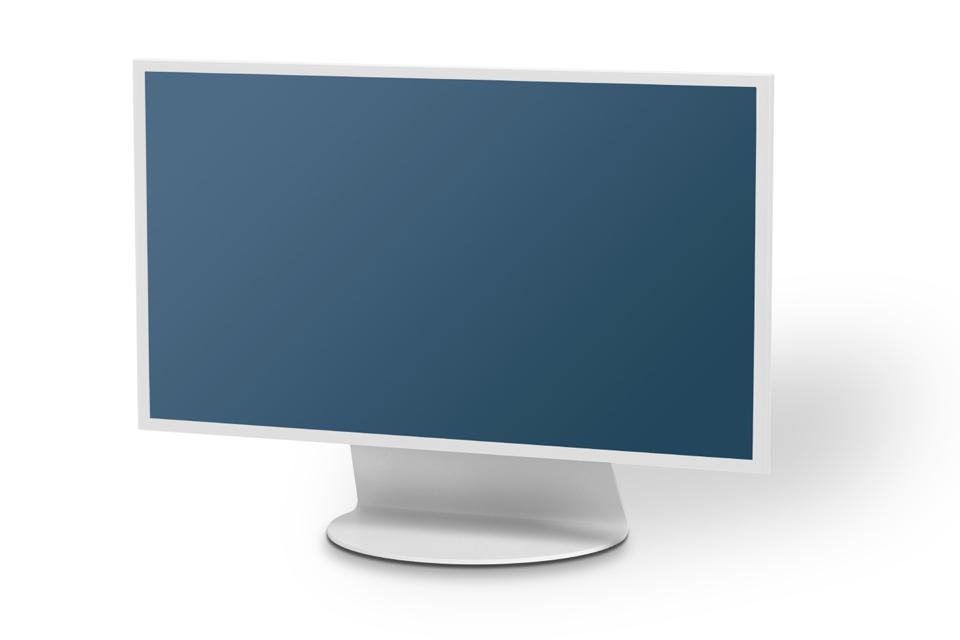 Alpha Home Basic bord TV stand, hvid