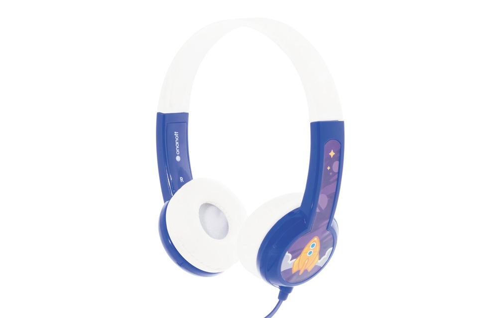 BuddyPhones Standard Børnehovedtelefoner, blå