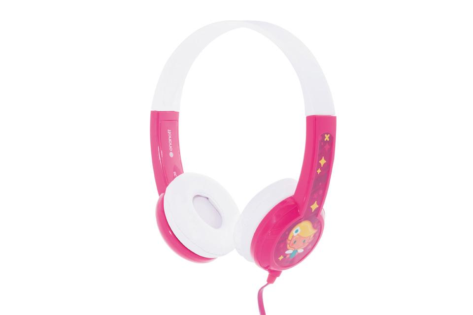 BuddyPhones Standard Børnehovedtelefoner, pink
