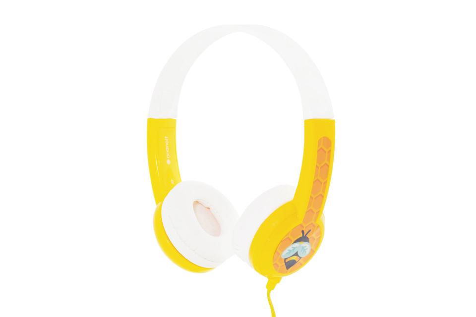 BuddyPhones Standard Børnehovedtelefoner, gul