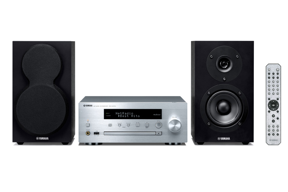Komplet stereoanlæg med CD-afspiller, DAB+, Internet radio og streaming i alle afskygninger. Yamaha MCR-N470D har både designet og lydkvaliteten med sig.