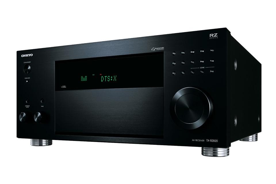Kraftfuld THX Certificeret surround receiver fra Onkyo med 7-kanaler. TX-RZ820 understøtter nyeste lyd og billedeformater.