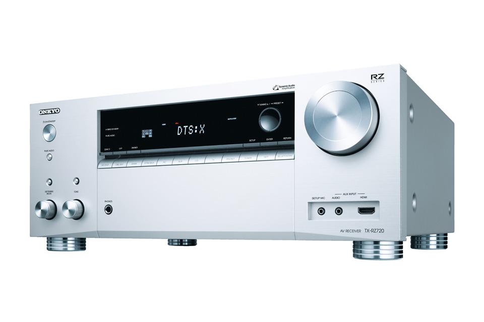 THX Certificeret surround receiver fra Onkyo! TX-RZ720 er intro modellen i RZ serien, der byder på førsteklasses lydoplevelser i både stereo og surround.