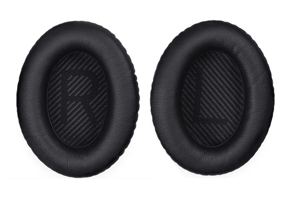 Med dette nye par ørepuder, der er nemme at sætte på, kan du udskifte mistede eller beskadigede ørepuder til QC®35.