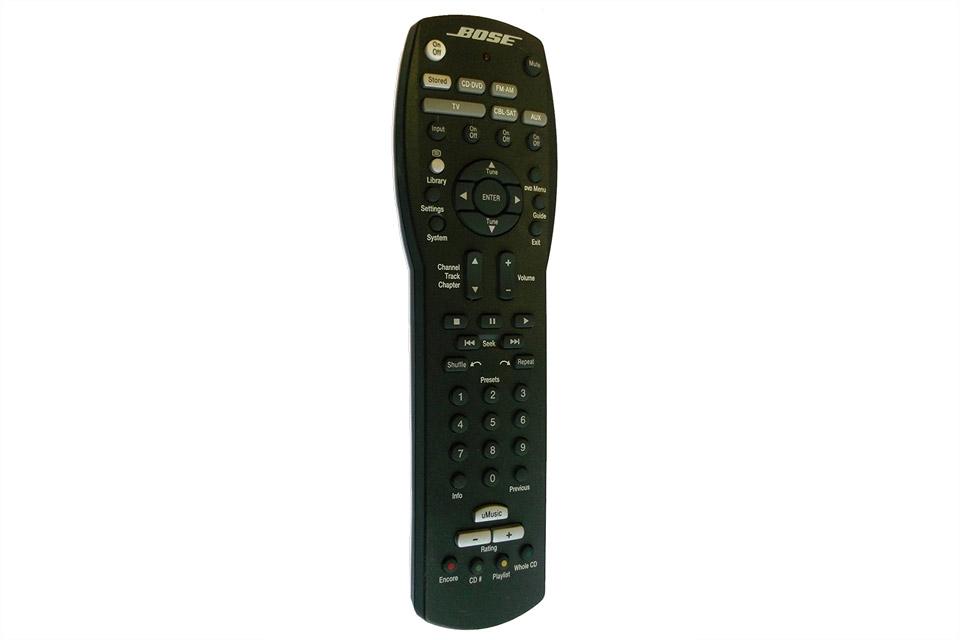Bruges til Bose 321 GSX II® home entertainment og 321 GSX III® home entertainment systemer.
