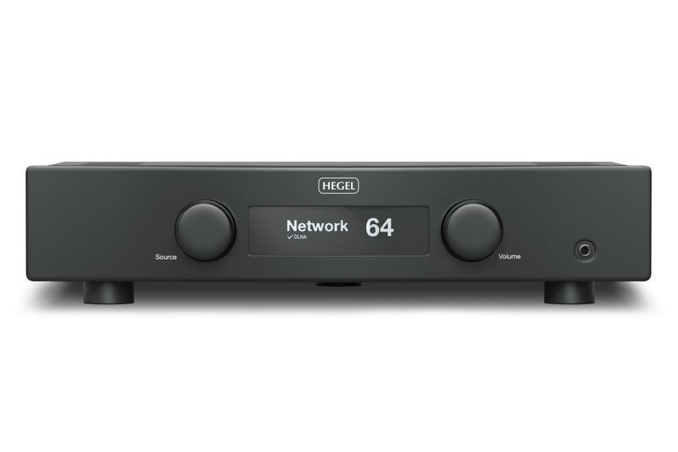 Forstærker med indbygget AirPlay. Hegel H90 bygger på den nye SoundEngine2 der har givet dramatiske forbedringer til lydbilledet og endnu bedre baskontrol.