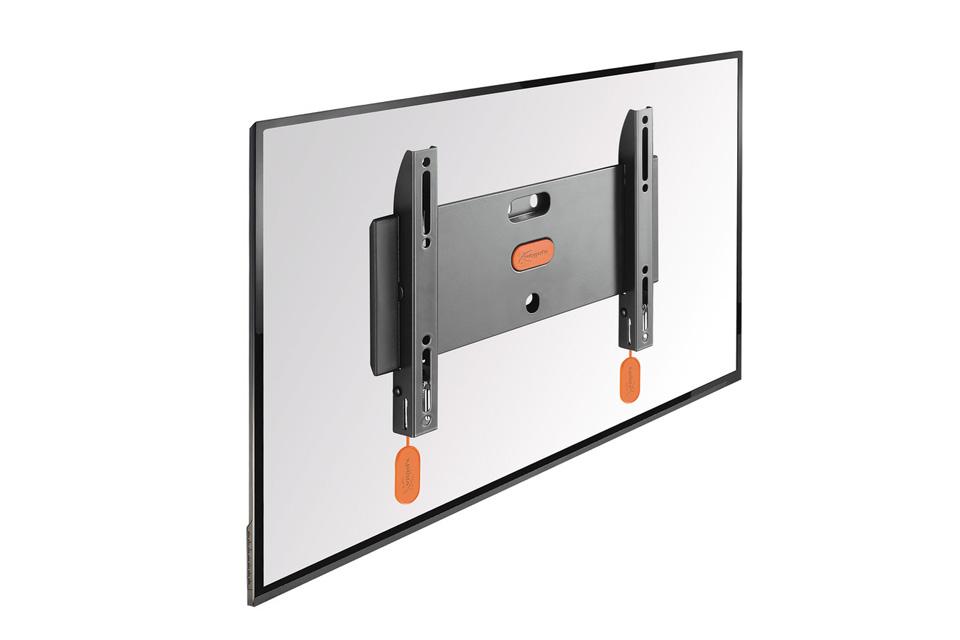 Vogels BASE 05 S er et fast TV vægbeslag, der passer til fladskærme i størrelsen 19-40