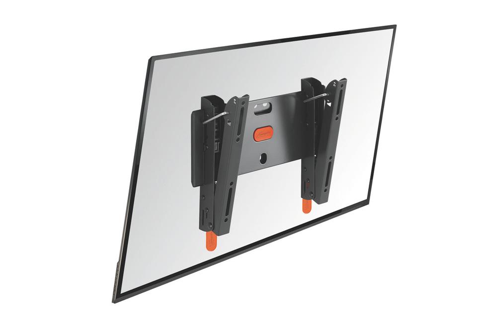 Vogels BASE 15-S er et TV/monitor vægbeslag med vippe-funktion, der passer til fladskærme i størrelsen 19-40