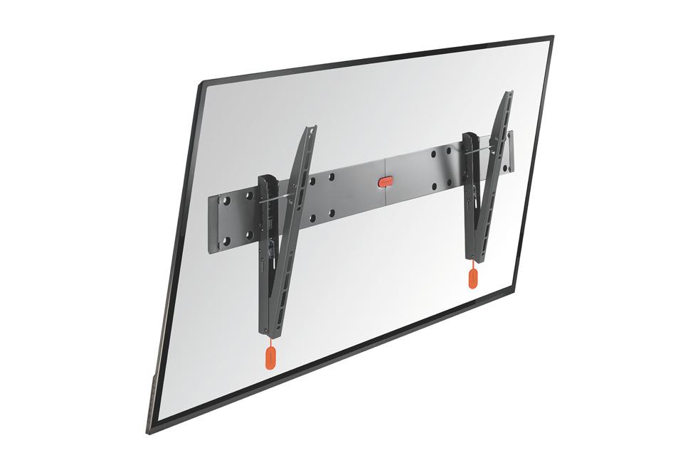 Vogels BASE 15-L er et TV vægbeslag med vippe-funktion, der passer til fladskærme i størrelsen 40-65