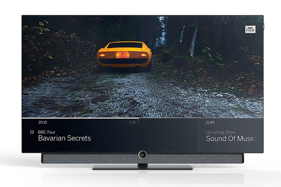 High-end 4K OLED TV fra LOEWE. Bild 4 byder på en billede og lydoplevelse ud over det sædvanlige, takket være et 2017 OLED panel og integreret soundbar på 80W.