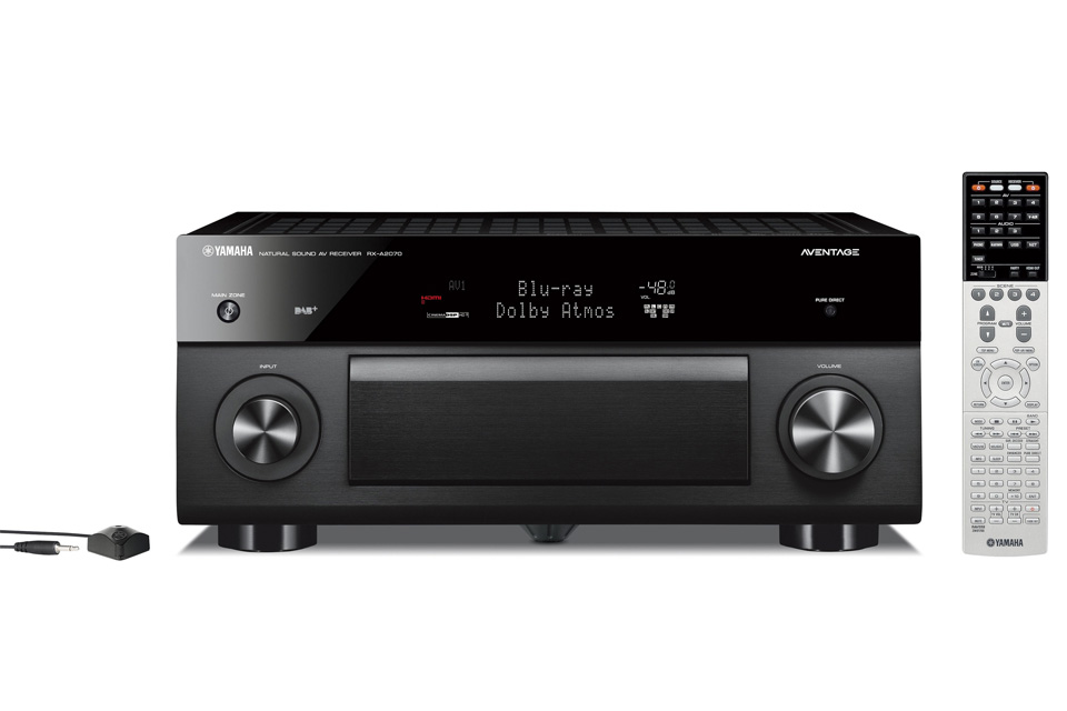 Yamaha RX-A2070 surround receiver, sort