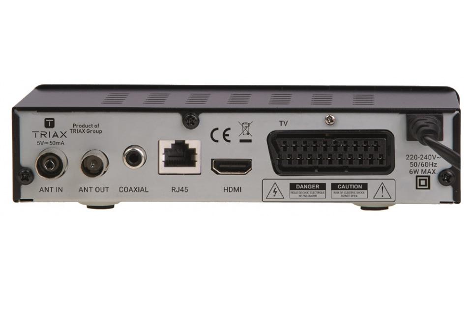 triax tr 63 dvb t2 hd receiver. Black Bedroom Furniture Sets. Home Design Ideas
