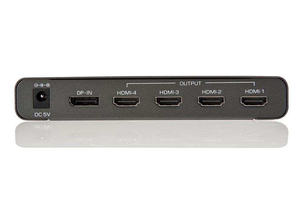Lindy 4K DisplayPort til HDMI konverter