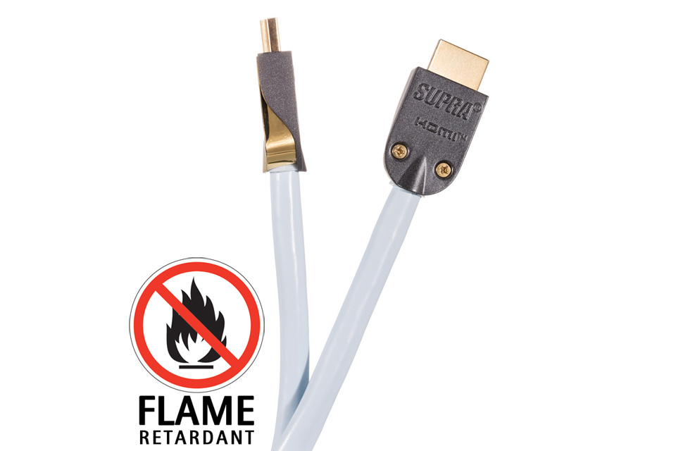 Supra halogenfri HDMI kabel