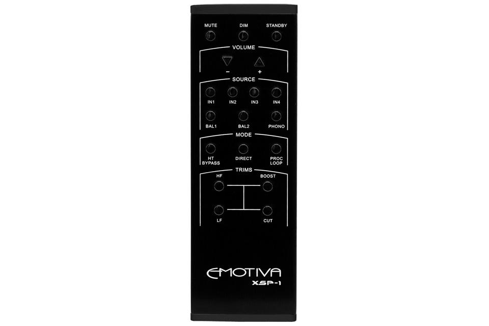 Emotiva XSP-1 forforstærker remote