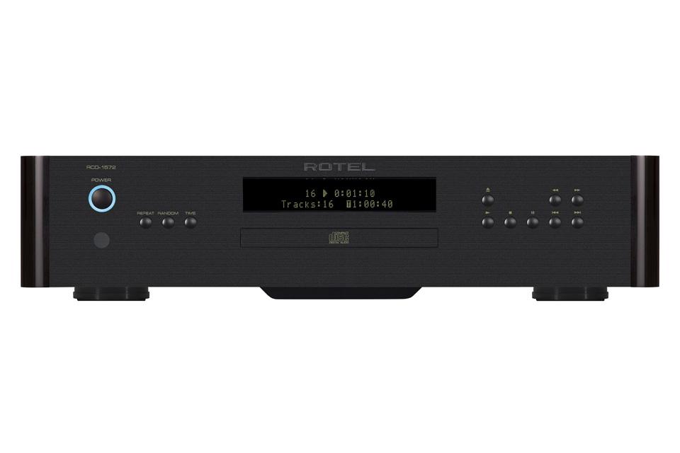 Rotel RCD-1572 CD-afspiller, sort