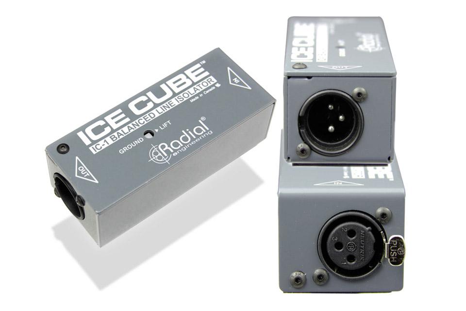 Balanceret line isolator, til eliminering af brum og støj forårsaget af jordsløjfer.
