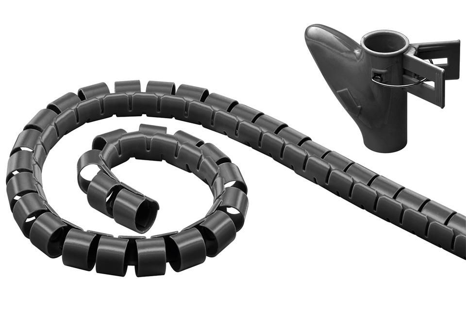 2.5 meter cable eater inkl. cable eater værktøj. Længden kan nemt tilklippes med en saks.