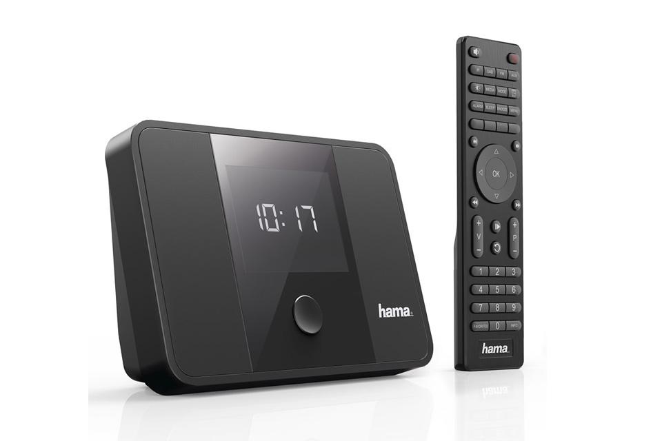 DAB+/FM radio adapter med både digital og analog lydudgang for nem tilslutning til et eksisterende anlæg. DT100BT kan også streame musik trådløst via Bluetooth.