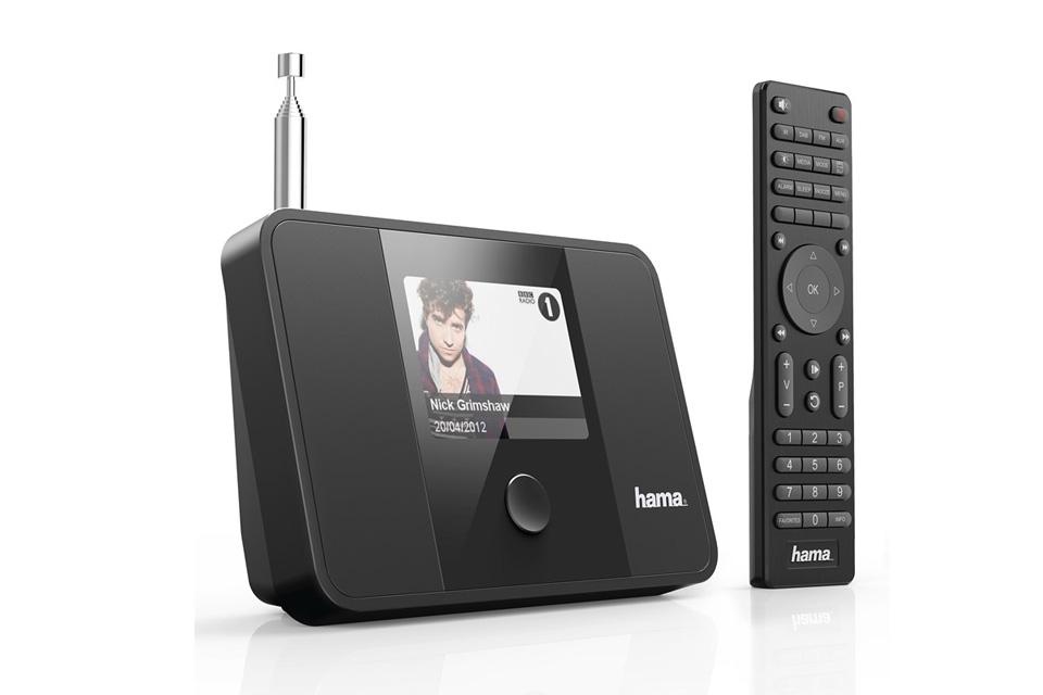 Internet, DAB+ og FM radio adapter med farvedisplay. DIT1000MBT kan også modtage musik via Bluetooth. Har en analog og en digital lydudgang.