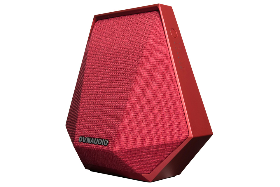 Dynaudio Music 1, red - Side view