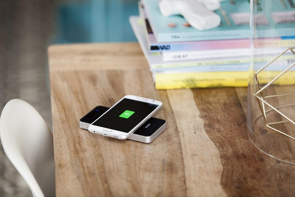 Zens powerbank QI trådløs 4500 mAh