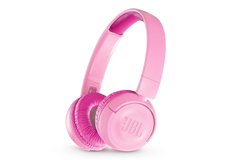 JBL JR300BT trådløse børnehovedtelefoner, pink