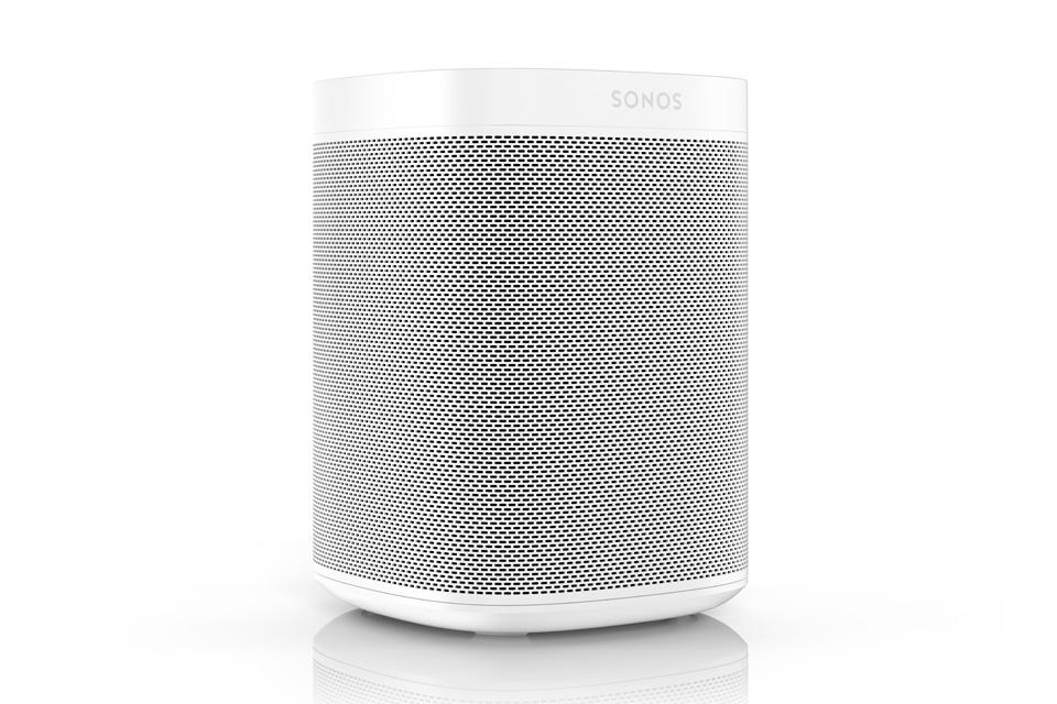Sonos One smarthøjttaler, hvid