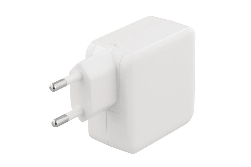 2-ports USB-C oplader