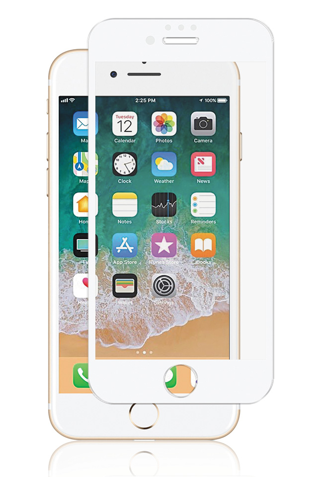Premium Full-Fit PANZER glas giver den ultimative beskyttelse til iPhone 6/6S/7/8 PLUS