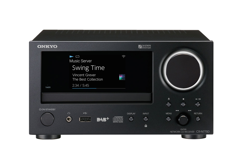 Kompakt alt i en netværks forstærker på 2 x 40W, med indbygget CD afspiller og et stort udvalg af de mest populære netværksfunktioner.