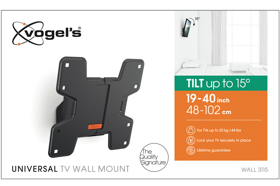 Vogels Wall 3115 Tv Wall Support With Tilt