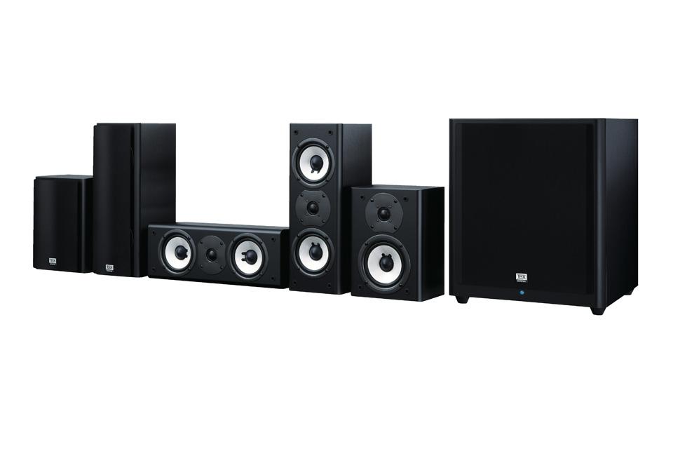 5.1 THX højttalersystem fra Onkyo med en 12