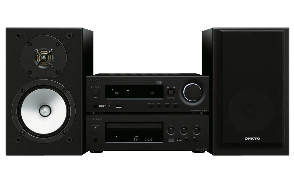 Det bedste komplette stereo system med højttalere fra Onkyo, med masser af netværksfunktioner, CD-afspiller, DAB+ og rigtig god lyd.
