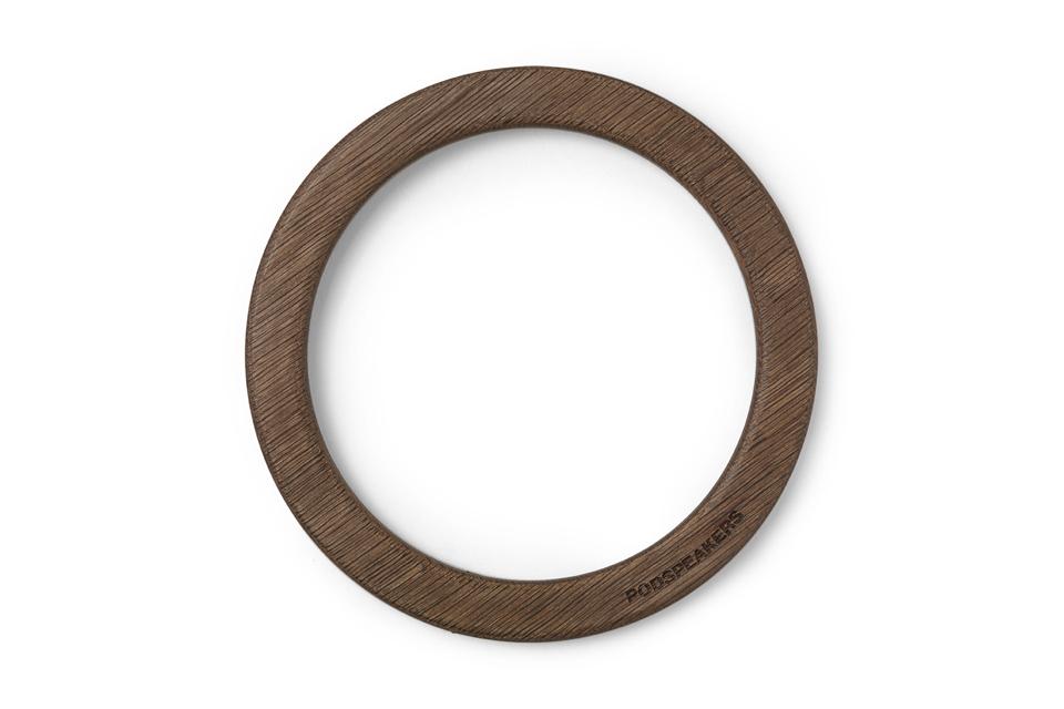 Podspeakers Wooden hoop, dark oak