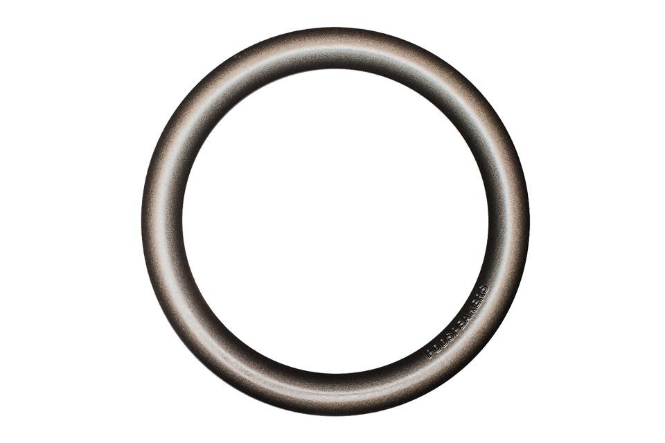 Podspeakers aluminium hoop, dark metal