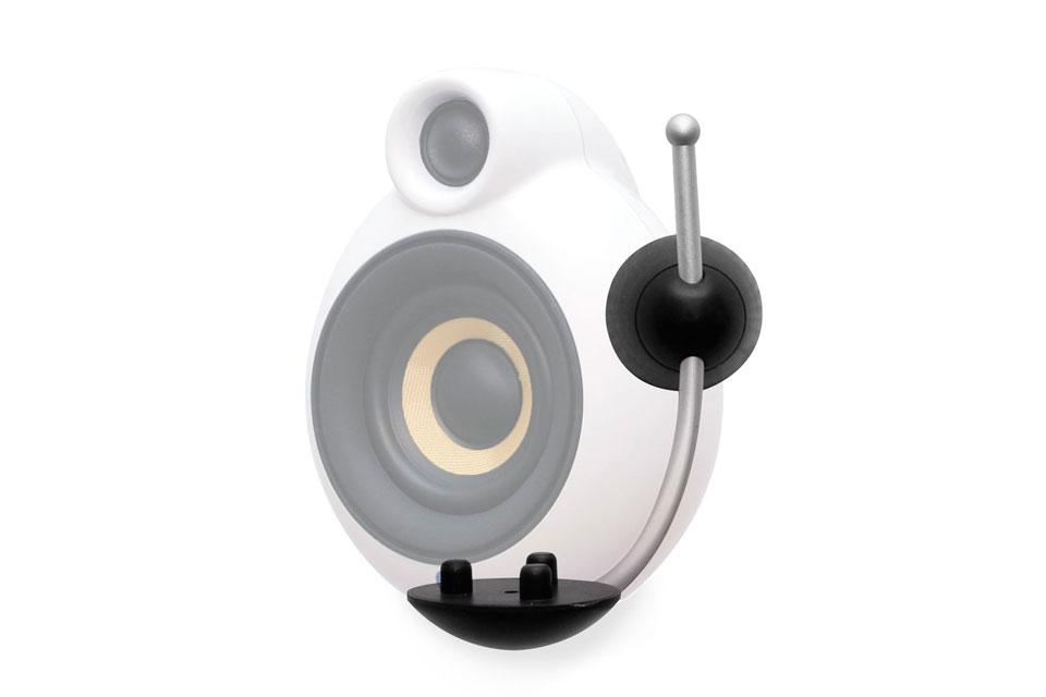 Stilfuldt og elegant vægbeslag til MicroPod højttaleren. Dette vægbeslag gør det muligt at vinkle og tilte højttaleren efter behov.