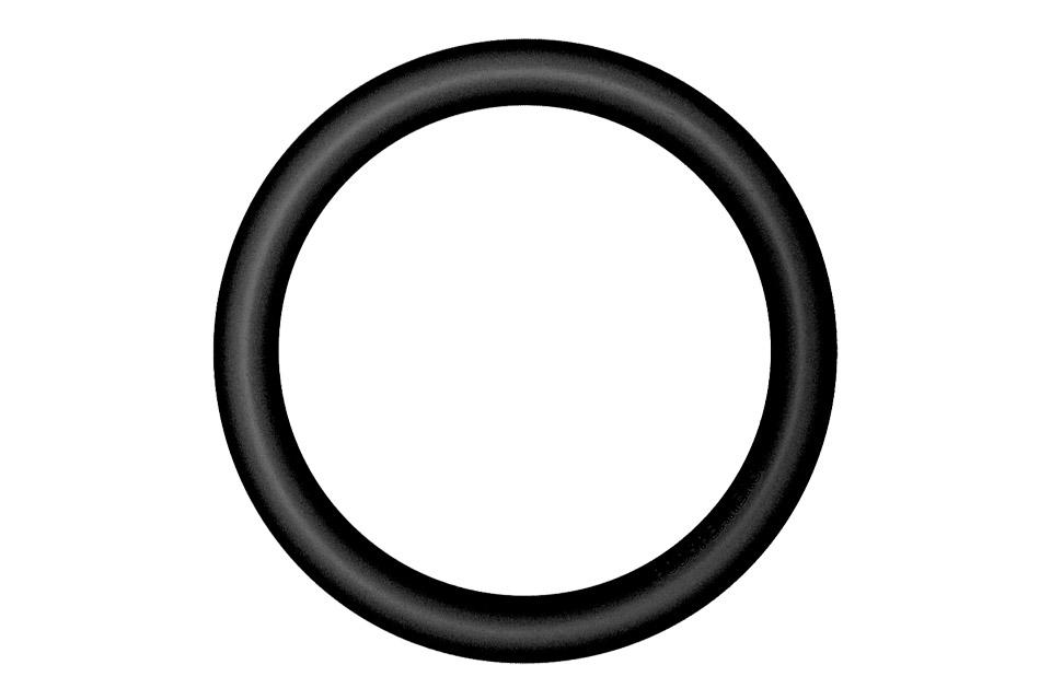 Podspeakers aluminium hoop, black