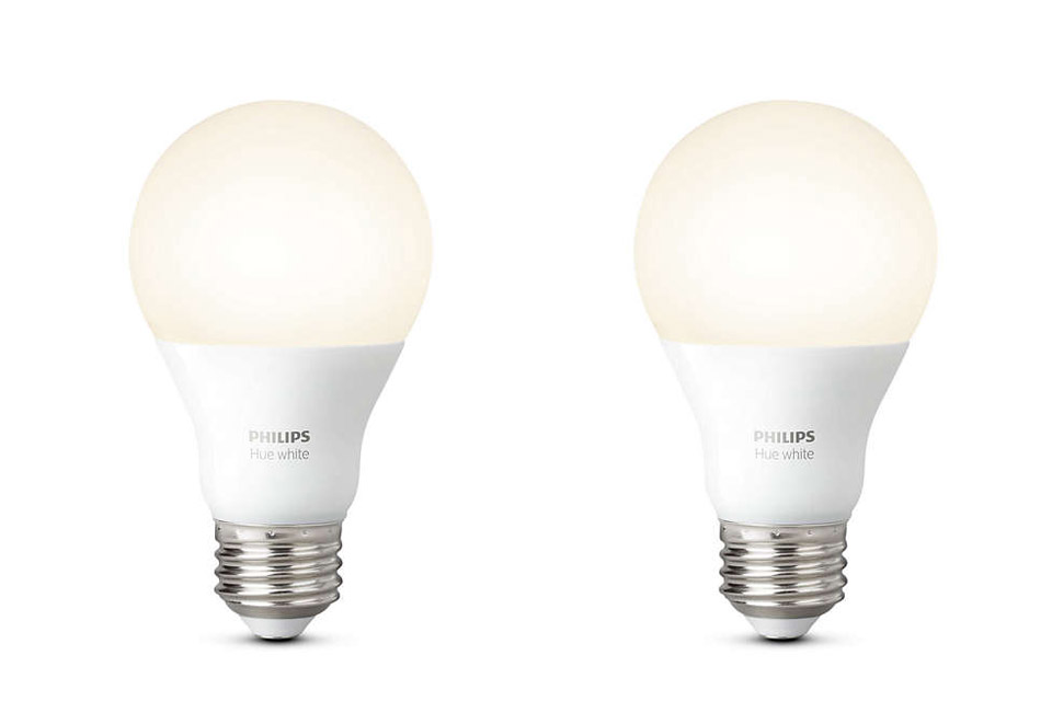 philips hue white e27 led bulb. Black Bedroom Furniture Sets. Home Design Ideas