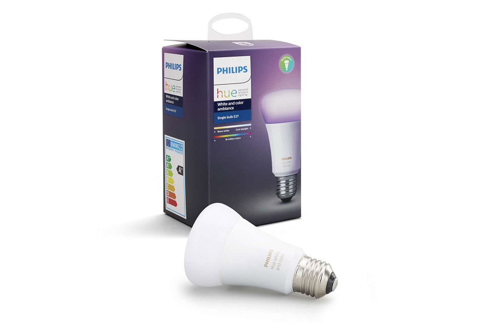 philips hue color e27 led bulb richer colors. Black Bedroom Furniture Sets. Home Design Ideas