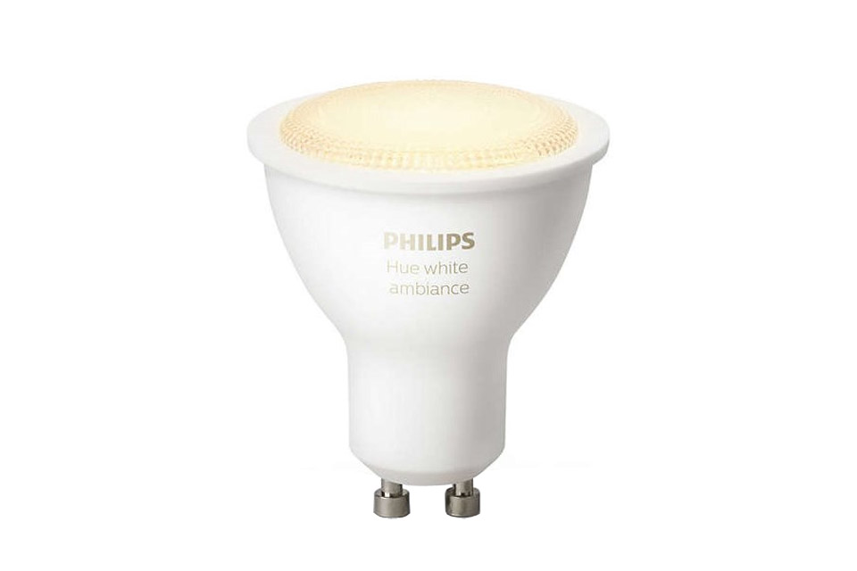 philips hue white ambiance gu10 led bulb. Black Bedroom Furniture Sets. Home Design Ideas