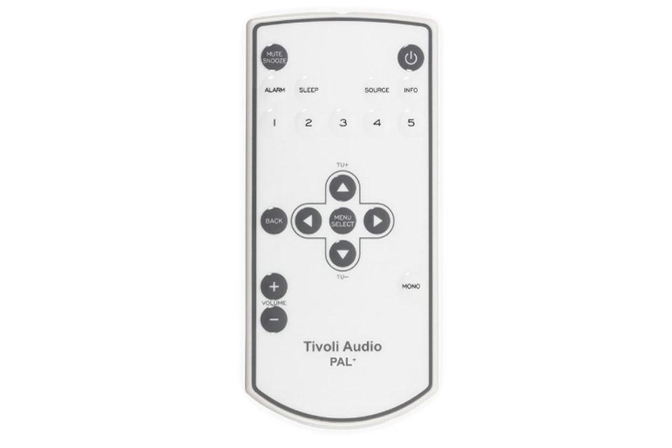tivoli audio remote control for pal