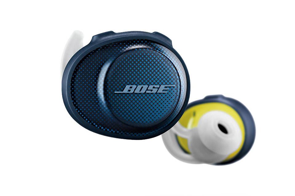 Bose SoundSport Free in-ear hovedtelefoner, blå