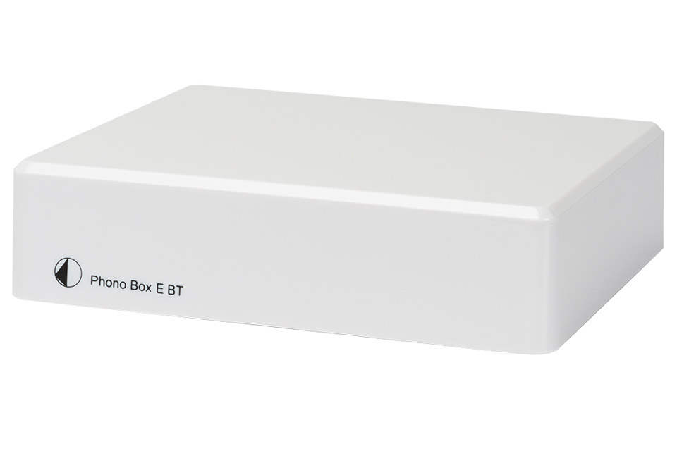 Pro-Ject Phono BOX E RIAA BLUETOOTH, hvid