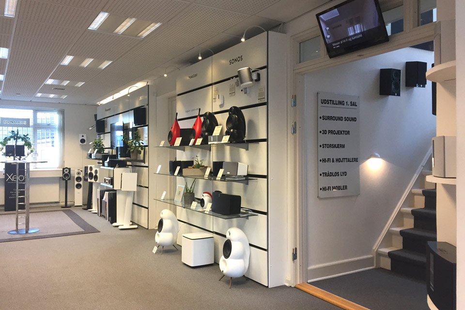 , AV-Connection Odense Butikken - Stue