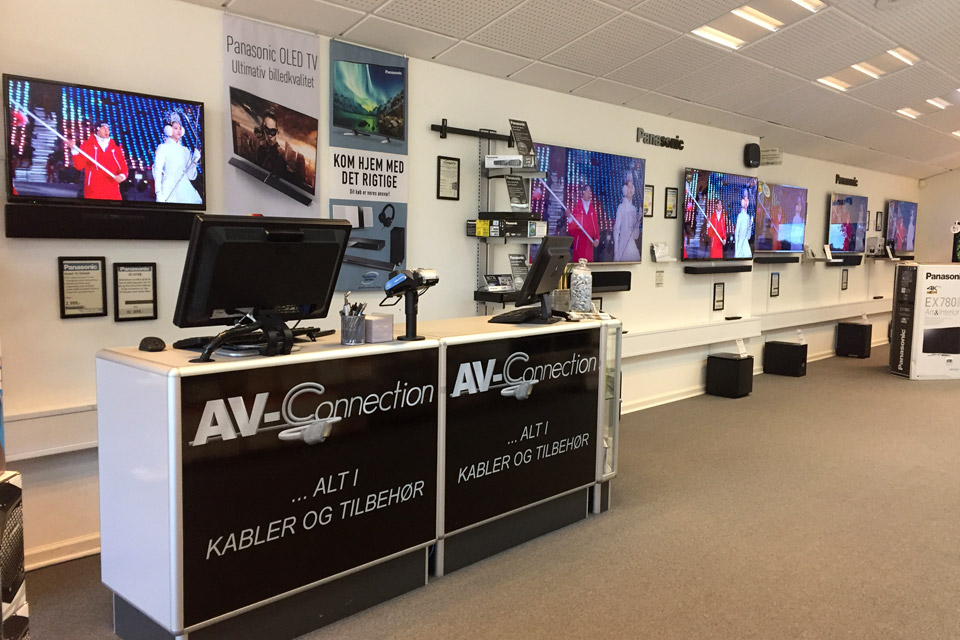 , AV-Connection Odense Store: TV and audio