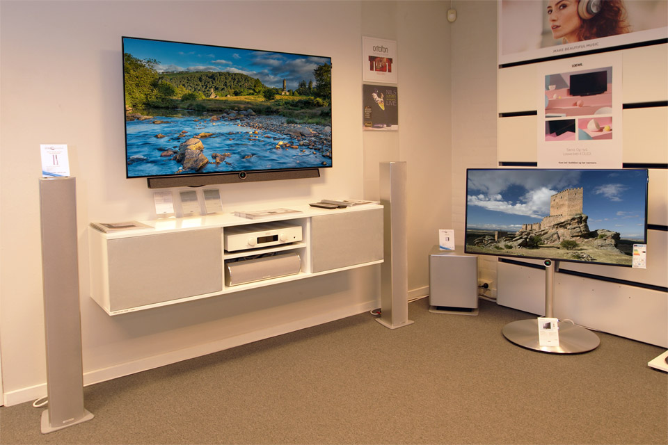 , AV-Connection Sønderborg Store: TV audio, streaming and multiroom audio
