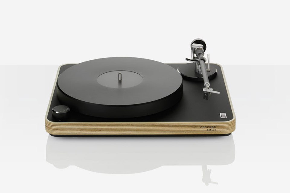 ClearAudio Concept Active pladespiller, wood