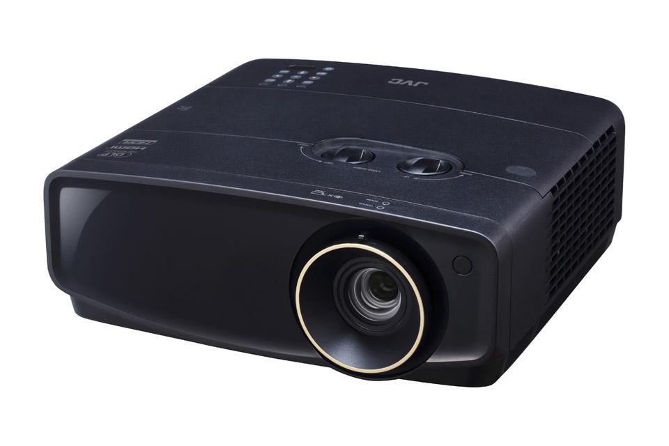 JVC LX-UH1 4K projektor, sort