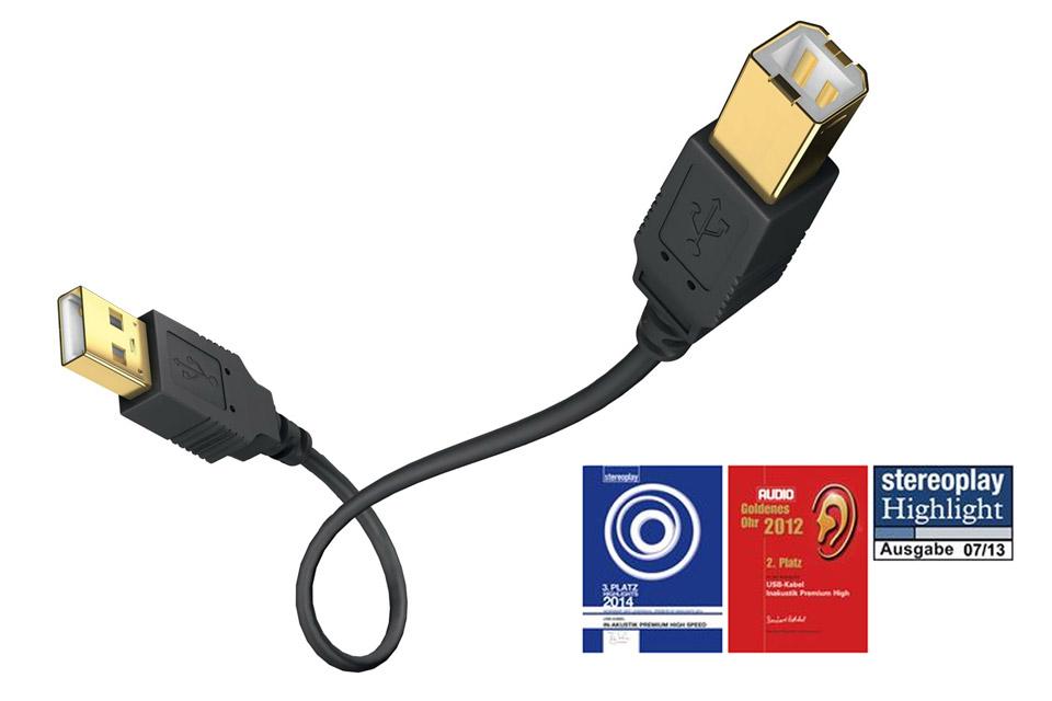 inakustik Premium USB A-B
